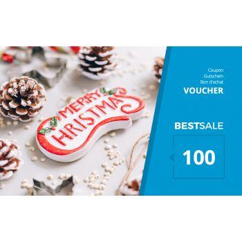BestSale Shop Bon d'achat €25 – €500 / X-Mas