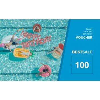 BestSale Shop Bon d'achat €25 – €500 / Birthday Pool