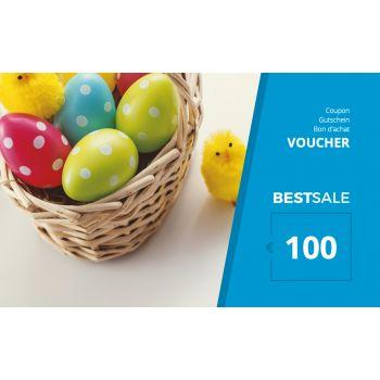 BestSale Shop Bon d'achat €25 – €500 / Easter