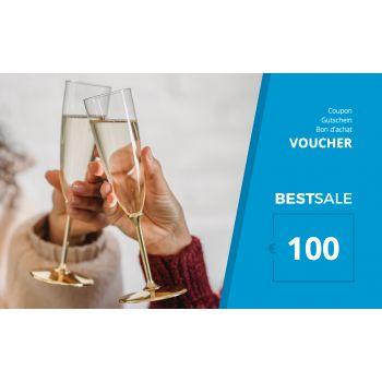 BestSale Shop Bon d'achat €25 – €500 / Congratulation