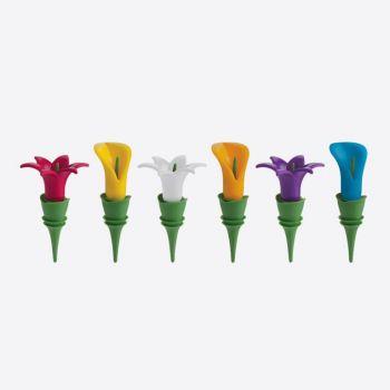 Trudeau bouchon pour bouteilles fleur (24pcs/disp.)