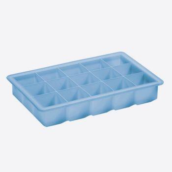 Lurch petit bac à glaçons cube bleu glacé 3x3cm