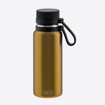 Lurch Outdoor bouteille isotherme à double paroi en inox doré 500ml