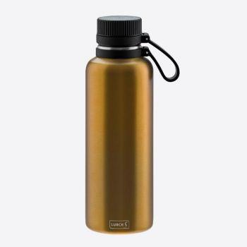 Lurch Outdoor bouteille isotherme à double paroi en inox doré 1L