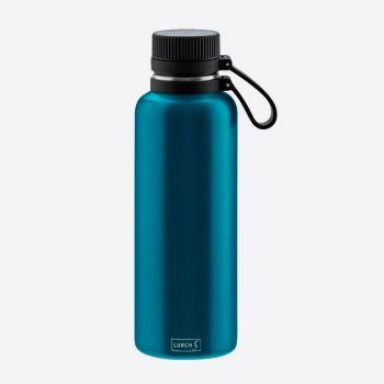 Lurch Outdoor bouteille isotherme à double paroi en inox bleu 1L