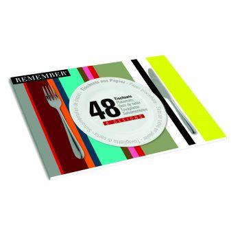 Paper Placemats - Stripes