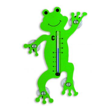 Thermometer Froggy - dark green