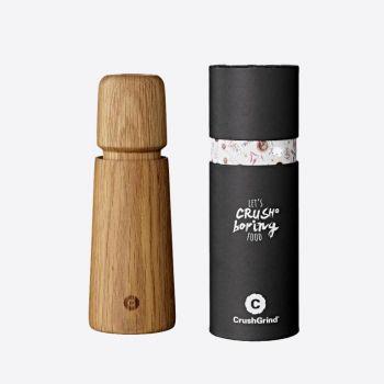 Crushgrind Stockholm moulin à poivre ou à sel en bois de chêne brun 16.8cm
