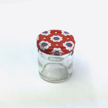 Madam Confituur set de 8 bocaux ronds avec couvercle 41ml