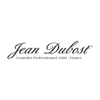 Jean Dubost set de 6 cuillères à café Laguiole en inox taupe