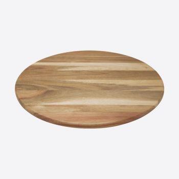 Dagelijkse Kost planche à servir ronde en bois d'acacia ø 40cm H 1.8cm