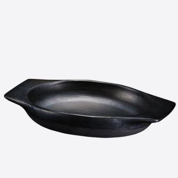 De La Terra plat à four ovale 30.5x27x6cm - 2.2L