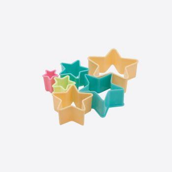 Dotz set de 6 emporte-pièces étoile