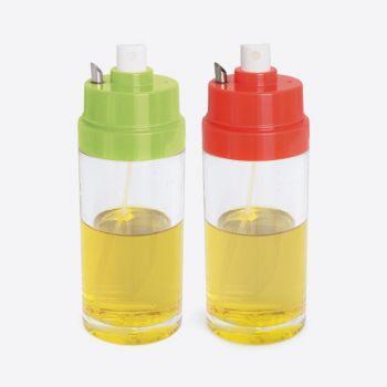 Dotz vaporisateur d'huile avec bec verseur vert ou rouge 150ml (8pcs/disp.)