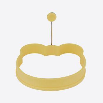 Dotz anneau en silicone pour oeuf ours jaune 12x11x2cm