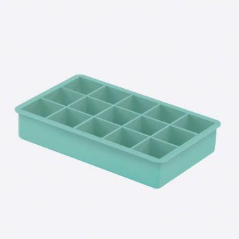 Dotz moule à glaçons en silicone cubique bleu aqua 3.3x3.3x3.3cm