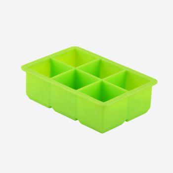 Dotz moule à glaçons en silicone cubique vert 4.8x4.8x4.8cm