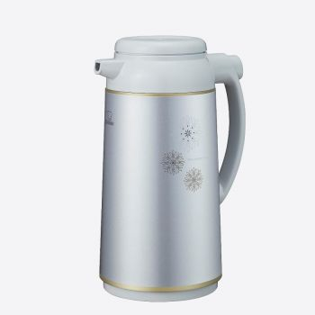 Zojirushi pichet isotherme avec bouteille intérieure en verre gris argenté 1.9L