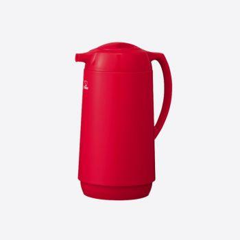 Zojirushi pichet isotherme avec bouteille intérieure en verre rouge 1L
