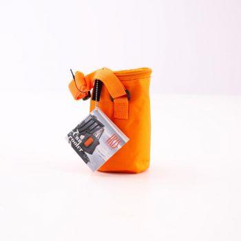 Iris Barcelona Can Cooler with cooling gel orange