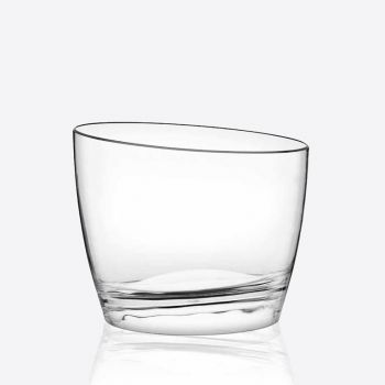 Italesse Easy Bowl Round seau à glace en acrylique transparent Ø 32cm H 26.5cm