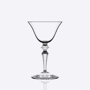 Italesse Wormwood Astoria set de 6 verres à champagne avec motif fleuri 130ml