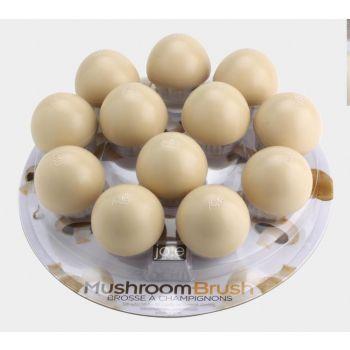 Joie brosse à champignon en nylon Ø 5cm H 5cm (12pcs/disp.)