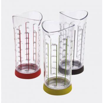 Joie mesureur rouge; vert ou noir 500ml (12 ass.)