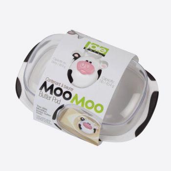 Joie Moo Moo beurrier avec couvercle en matière synthétique blanc et noir 18x12.3x9cm
