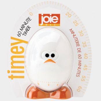 Joie Egghead minuteur à œuf jusqu'à 1 heure blanc 10.2x5x11.4cm