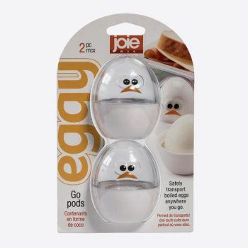 Joie Eggy set de 2 boîtes de conservation pour un oeuf blanc ø 5.5cm H 6.6cm
