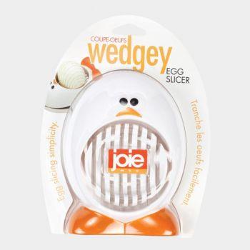 Joie Wedgey trancheur à oeuf blanc 10.2x3.2x20.4