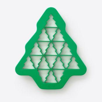 Lékué emporte-pièce en matière synthétique pour 19 sapins de Noël vert 23.5x27x1.5cm