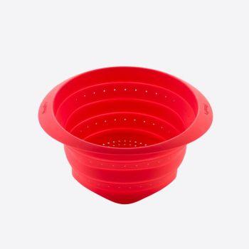 Lékué passoire pliable en silicone rouge Ø 23cm