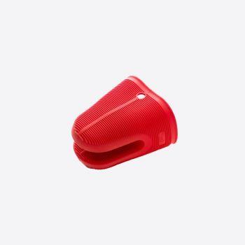 Lékué gant de cuisine en silicone rouge 11.8x9.5x13.5cm
