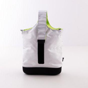 Menu Cool Bag; Grey/Lime