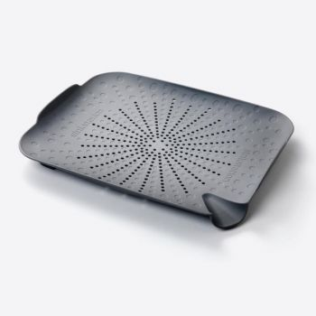 Sinkstation passoire plate anthracite 34x27.5x4.5cm