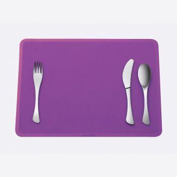 Omami set de 3 pièces - couverts & set de table violet (12pcs/disp.)