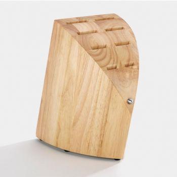Chroma Type 301 bloc à couteaux en bois guminoki pour 8 couteaux