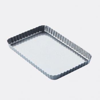 Point-Virgule moule à tarte/quiche antiadhésif et à fond mobile 31x21x3cm