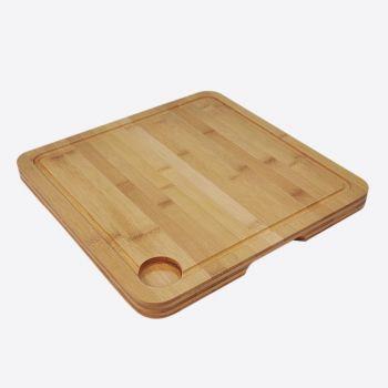 Point-Virgule planche à découper rainurée lave-vaisselle 35x35x2.5cm