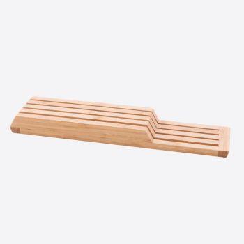 Point-Virgule bloc à couteaux pour tiroir en bambou 43x9.5x4cm