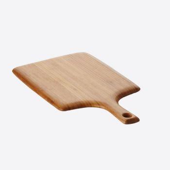 Point-Virgule planche à découper en bambou avec poignée 38x20x1.9cm