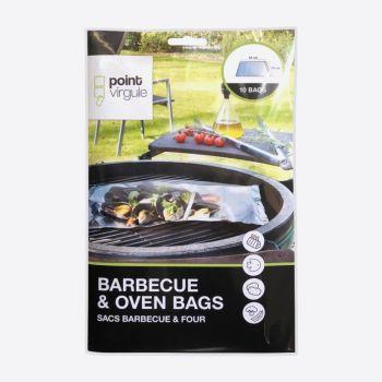 Point-Virgule set de 10 sacs pour four et barbecue
