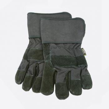 Point-Virgule set de 2 gants barbecue noir 32x15cm