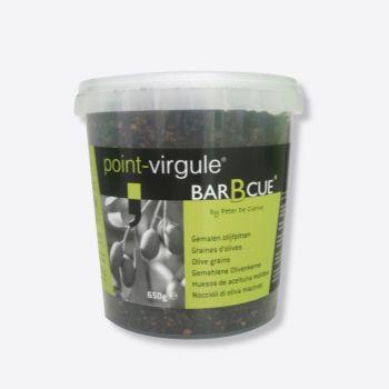 Point-Virgule noyaux d'olives moulus 650g