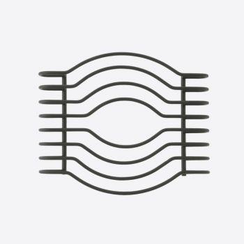 Point-Virgule Wire sous-plat noir 18.5x15x3cm