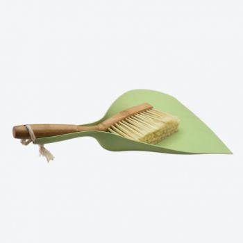 Point-Virgule set de pelle et balayette en bambou et mat. synth. recyclée 37x25.5x8cm