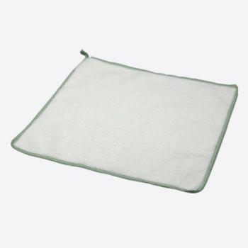Point-Virgule chiffon en fibre de bambou blanc 25x25cm (par 6pcs)