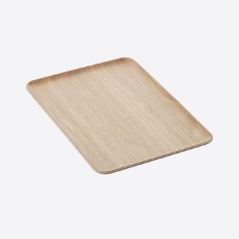 Point-Virgule plateau à servir rectangulaire couleur bois 39x27cm
